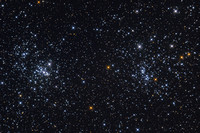 H & Chi Persei - The Double Cluster in Perseus